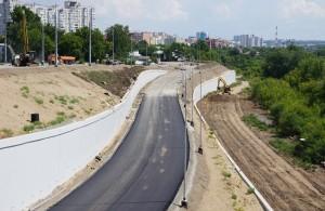 Где ведется строительство транспортных развязок в рамках реализации второго этапа проекта по возведению Фрунзенского моста.