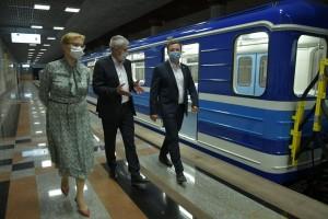 28 июля на линию самарского метрополитена вышел новый 4-х вагонный поезд. Новинку вместе с самарцами протестировал губернатор Дмитрий Азаров.
