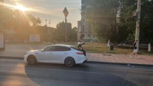 В Самаре легковушка сбила двух пешеходов