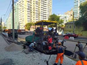 В Самаре подходят к завершению ремонтные работы по улице Ленинской на участке от Полевой до Чкалова