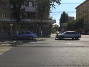 В Самаре столкнулись две автомобилистки