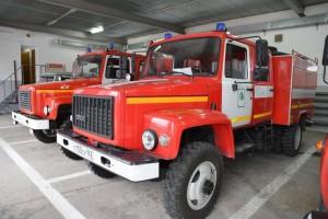 Виктор Кудряшов посетил пожарно-химическую станцию в Волжском районе губернии