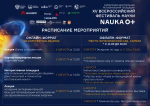 Фестиваль «NAUKA 0+» выходит в оффлайн