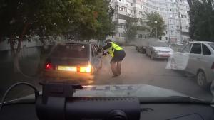 В Тольятти сотрудники ГИБДД задержали несовершеннолетнего нарушителя за рулём