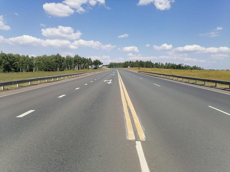В Самарской области на автодорогах применяют экспериментальную термопластиковую разметку