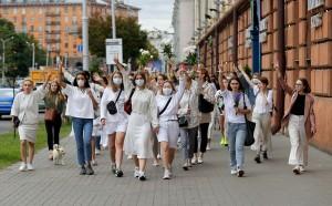Самая многочисленная акция прошла в Минске. С вечера воскресенья в стране задержаны свыше 6 тысяч человек.