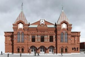 Стало известно,как примерно будет выглядеть обновленное здание драмтеатра