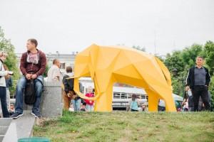 """""""ВолгаФест"""" начнётся с пяти музыкальных и хореографических концертов на закатах с 24 по 28 августа, параллельно с которыми можно будет понаблюдать за строительством арт-объектов."""