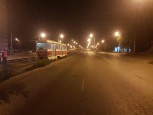 На Заводском шоссе в Самарке трамвай сбил молодого мужчину