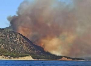 Сообщается о четырёх очагах возгорания в регионе.