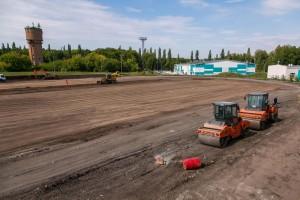 В Самаре начался капитальный ремонт стадиона Салют