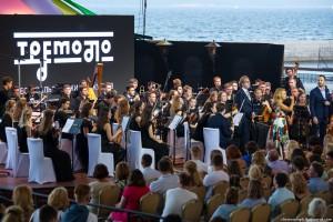 По традиции фестиваля оркестры, вокалисты, артисты из ведущих театров России и зарубежья собираются под открытым небом, на берегу Волги.