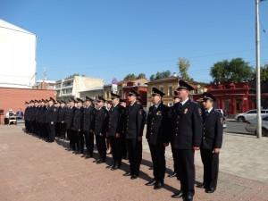 В Самаре состоялось торжественное принятие Присяги сотрудниками органов внутренних дел