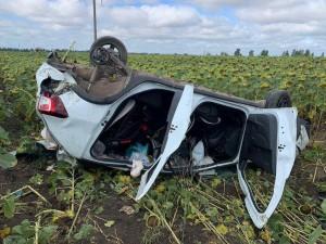 В ДТП в Сергиевском районе погибла девушка-подросток  Водитель автомашины и 2 остальных пассажира получили травмы.