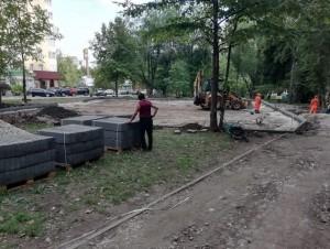 В Самаре началось строительство детской площадки от Димы Билана