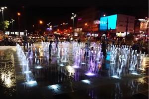 На месте рынка на Авроре в Самаре появился фонтан