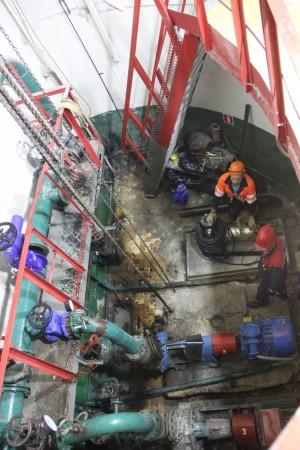 РКС-Тольятти реконструирует канализационную насосную станцию в Центральном районе города.