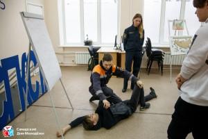 Квест-игра «Антитерор» направлена на получение практических знаний о том, как действовать в различных экстремальных ситуациях.
