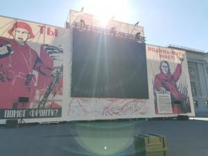 «Дорога истории – наша Победа»: на площади Куйбышева в Самаре открылся уникальный музей под открытым небом