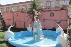 На Самарской ГРЭС завершилась реставрация фонтанной группы «Купающиеся мальчики», любимой достопримечательности жителей областной столицы и гостей города.