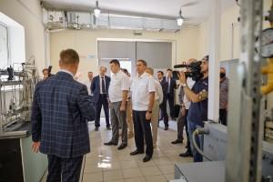 В СамГУПС на базе факультета «Подвижной состав и путевые машины» открылась новая межотраслевая лаборатория «Газомоторное и водородное топливо».