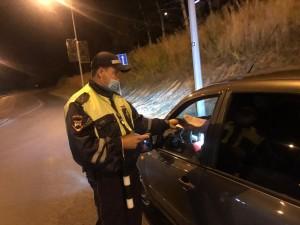 Самарских водителей проверили на трезвость