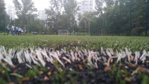 На территории школы №53 Промышленного района Самары (Московское шоссе,101) открылась новая спортивная площадка.