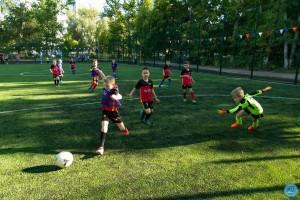 Около самарской школы №53 открылась новая спортплощадка