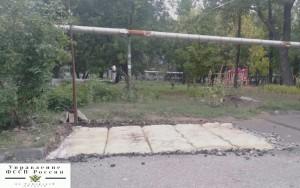 Незаконный киоск в п. Управленческий в Самаре снесли