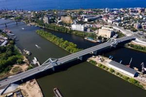 Завершено строительство первой очереди Самарского моста