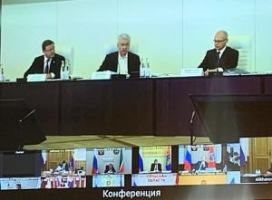 Губернатор Дмитрий Азаров принял участие в заседании рабочей группы Госсовета РФ