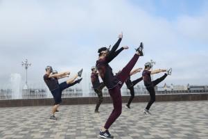 В Самаре на набережной профессиональные артисты балета устроили флешмоб