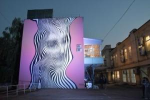 В Самаре появилась серия арт-работ на фасадах домов