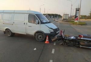 В ДТП в Жигулевске пострадали водитель мотоцикла и его пассажир
