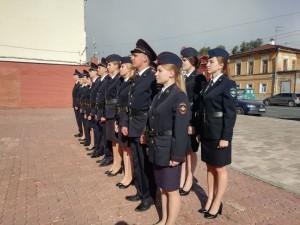 Мероприятие прошло на Мемориальном комплексе памяти сотрудников органов внутренних дел, погибших при исполнении служебных обязанностей, у Вечного огня.