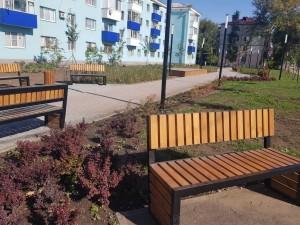 В Самарской области на 284 дворовых территориях и 133 общественных пространствах завершены работы. Остальные объекты находятся в высокой степени готовности.