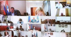 Дмитрий Азаров провелочередное заседание регионального оперативного штаба. Обсудили эпидемиологическую обстановку в области и рассмотрели ряд вопросов.