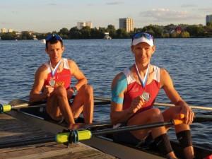 В Казани состоялся чемпионат России по академической гребле. В нем принимали участие более 300 спортсменов из 18 регионов страны. У самарских гребцов 6 медалей.