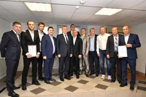 15 сентября в министерстве спорта Самарской области чествовали спортсменов, которые выиграли командный Кубок России по боксу.
