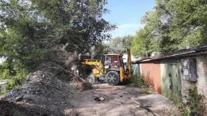 В Сызрани ликвидирована стихийная свалка