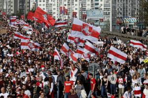 В Белоруссии 23-летнего глухонемого жителя Гомеля по имени Александр пытались привлечь за активное участие в несанкционированном митинге.