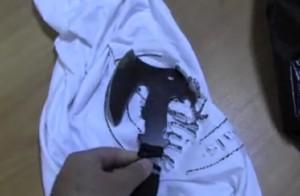 В Самаре мужчина с топором за поясом напал на продавца магазина