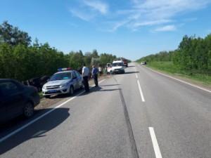 Опасный маневр на проезжей части привел к трагедии в Волжском районе