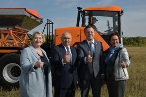 Производители сельхозтехники региона представили свои новинки на Поволжской агропромышленной выставке