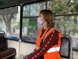 Регулярно проводятся рейды в общественном транспорте, проверяется соблюдение масочного режима сотрудниками и пассажирам