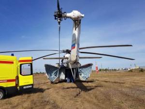 Служба санитарной авиации с использованием воздушного транспорта работает в Самарской области с августа 2020 года.