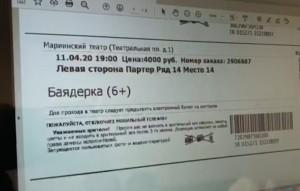 Выйти на подпольную сеть удалось при расследовании уголовного дела о продаже билетов на спектакли Мариинского театра через его поддельный сайт.