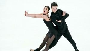 Ритм-танец Елизаветы Худайбердиевой и Егора Базина члены жюри поставили на первое место.