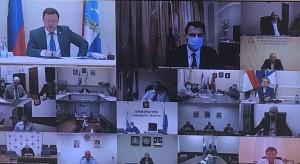 Дмитрий Азаров провел очередное заседание регионального штаба.