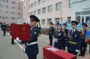 Присягу на верность Родине приняли 123 курсанта Самарского юридического института.